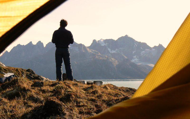 des de la tenda, Thibaut, olles i muntanyes